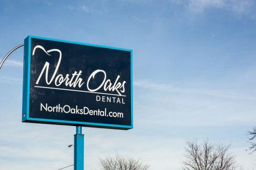 North Oaks Dental Office Sign2 in Royal Oak, MI
