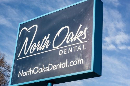 North Oaks Dental Office Sign in Royal Oak, MI